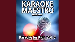 I Gave My Love a Cherry (Karaoke Version) (Karaoke In the Style of Children Music)