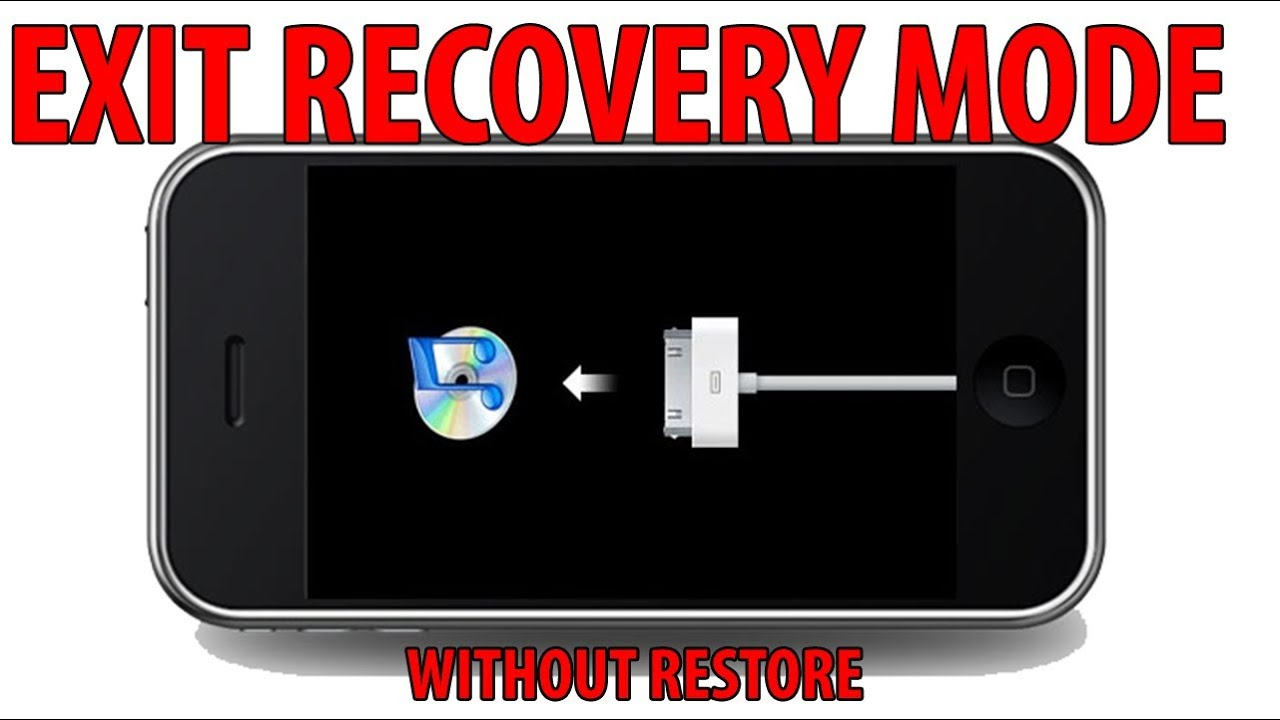 how to get ipod out of recovery mode