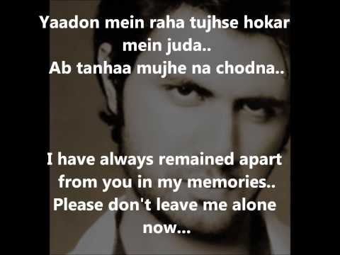 Yeh Junoon Song Mustafa Zahid - Shootout At Wadala(2013)- Lyrics And  Translation video
