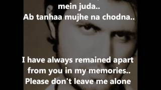 Yeh Junoon Song Mustafa Zahid - Shootout at Wadala(2013)- Lyrics and  Translation