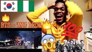 Download Lagu First Time Ever!! BTS (방탄소년단) 'MIC Drop (Steve Aoki Remix)' Official MV|| AFRICAN Reaction - Kpop Gratis STAFABAND