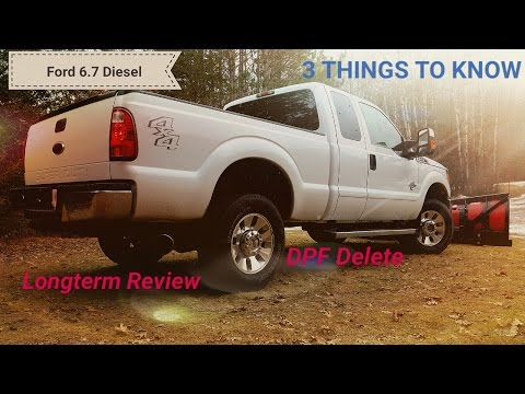 Ford 6.7 Powerstroke DPF Delete!!  LONGTERM REVIEW