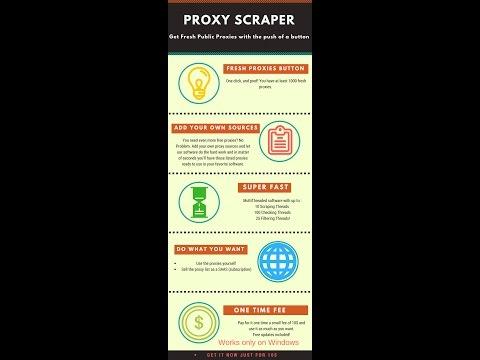 Proxy Scraper 2017, Free Public Proxy List Scraper and Checker by