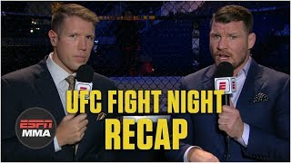 Recapping Valentina Shevchenko's win vs. Liz Carmouche | UFC Fight Night | ESPN MMA