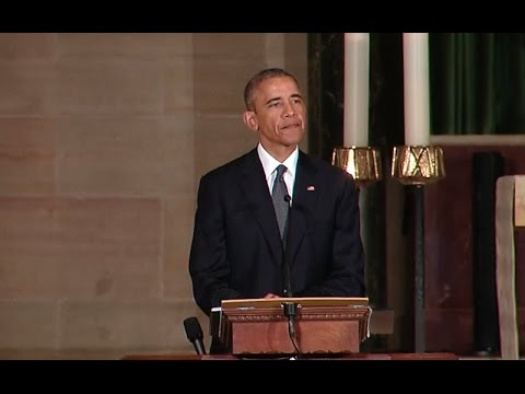 The President Delivers a Eulogy in Honor of Beau Biden
