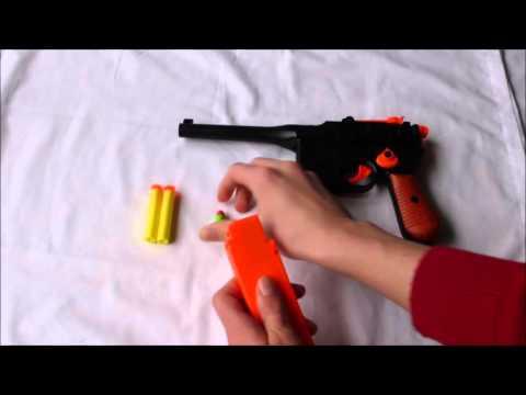 NERF Like Mauser Dart gun pistol