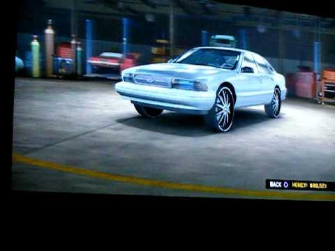 Midnight club Los Angeles (custom cars) Part 1