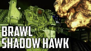 MWO: F2P - Trial By Fire: Brawling Shadow Hawk
