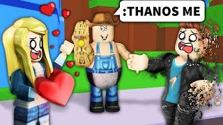 I used ROBLOX ADMIN to THANOS SNAP NOOBS