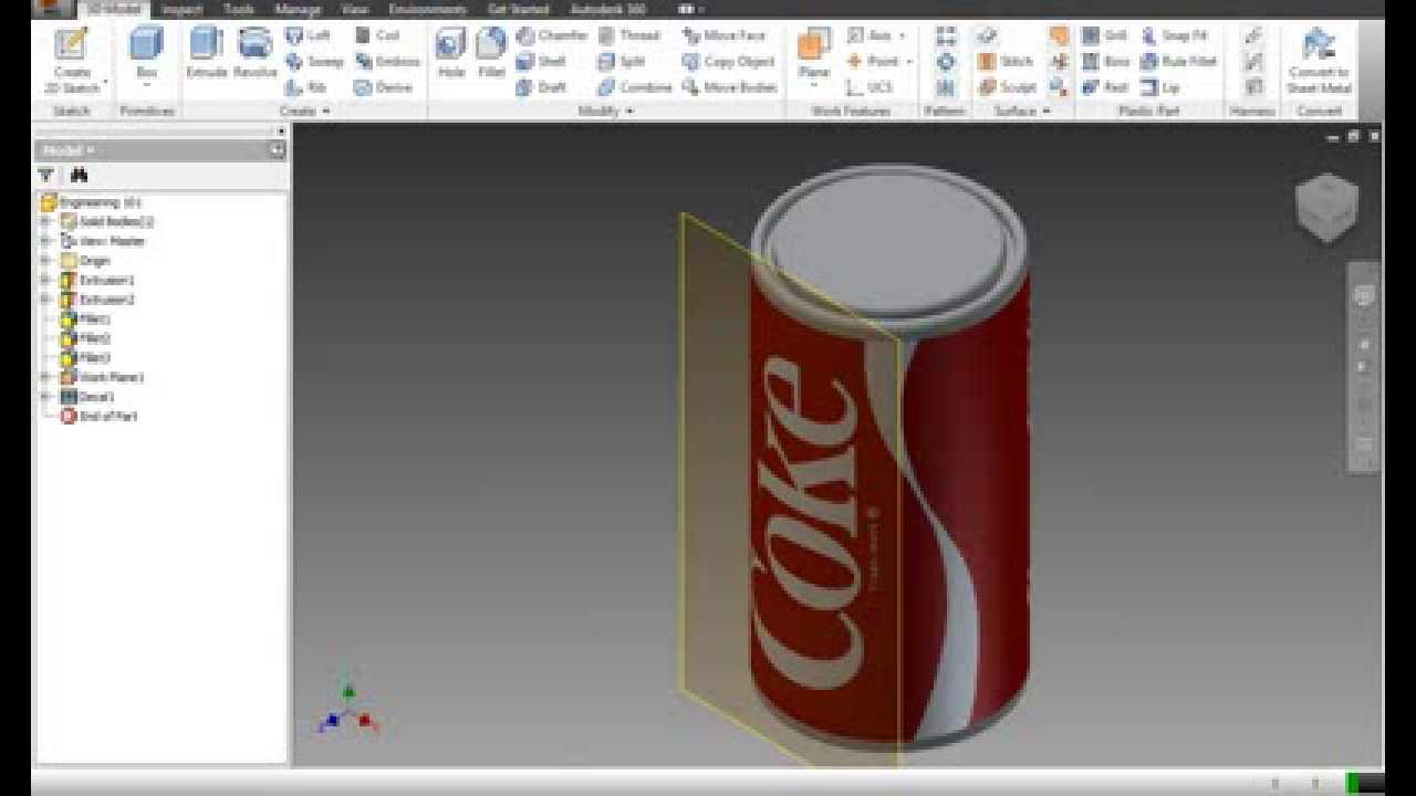 Autodesk Inventor Creating Decals And Applying Images To