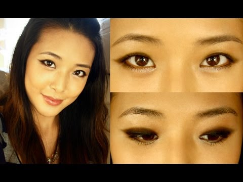 Makeup for Uneven Eyelids