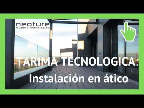 Tarima tecnologica de exterior instalacion en atico youtube - Suelos tecnicos precios ...