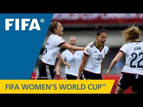 ◆女子W杯◆GL第1節・B組 ドイツ×コ-トジボワール ドイツフェイエスコアで大勝!観客数2万越え(ハイライト)