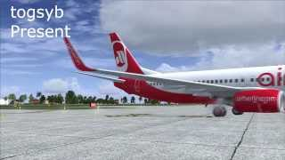 FSX- Flight No.3 [USM - CNX]