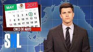 Weekend Update on Cinco de Mayo - SNL