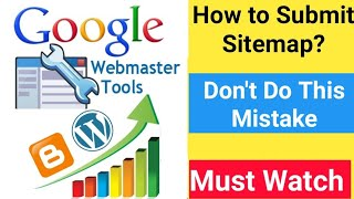 Google Webmaster Tool Sitemap Submit & Yoast SEO Settings Complete Method Improve Website Traffic