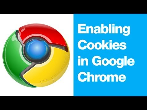 How to Enable Cookies in Google Chrome