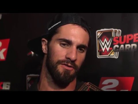 "Seth Rollins Interview: ""I wanna take down Stone Cold Steve Austin at WrestleMania 32"""