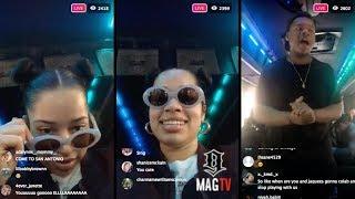 "Download Lagu Ella Mai In The Sprinter Van Singing ""Trip"" Wit The Crew On IG Live! Gratis STAFABAND"