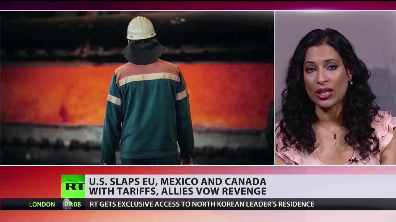 US slaps EU, Mexico and Canada with tariffs, allies vow revenge