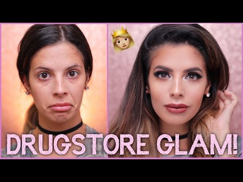 FULL FACE DRUGSTORE MAKEUP TRANSFORMATION ON LAURA LEE | Manny MUA