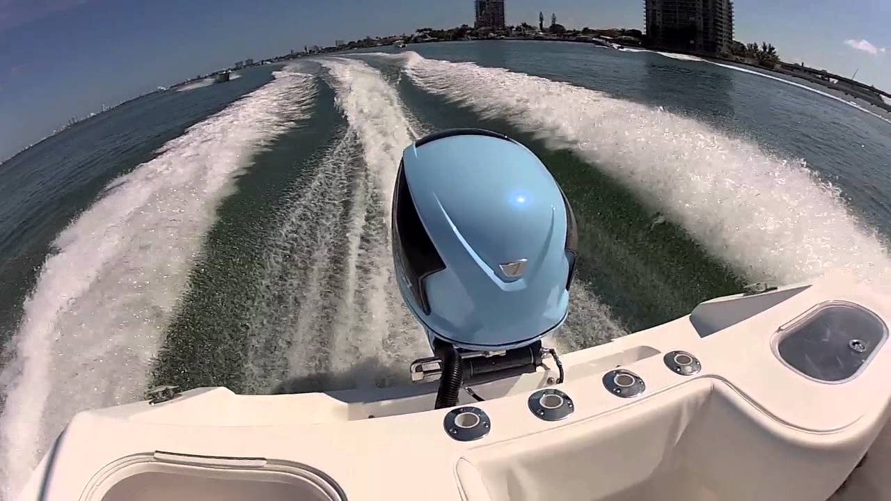 Seven Marine 557 Sea Trial At Miami Boat Show 2012 Youtube