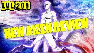 New Aizen (ANY ATTRIBUTE) 6? LVL.200 Review/Gameplay [Bleach Brave Souls]