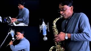 Nee Partha Paarvaikoru nandri (Hey Ram) - Sax & Flute cover