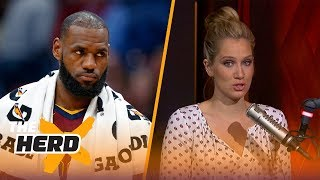Cavaliers drop 4th straight game, lose to Pacers, 124-107 - Kristine and Colin react | THE HERD