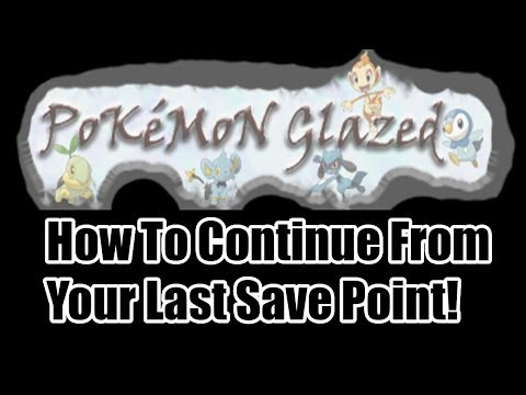 Pokemon Glazed Beta 5 - How To Continue Your Save and Patching!!