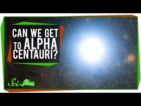 Can We Get to Alpha Centauri?