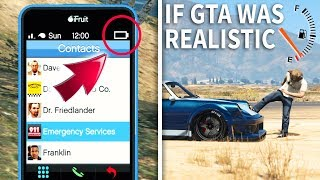 GTA V - If GTA was Realistic 2