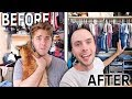 OUR HUGE CLOSET MAKEOVER!