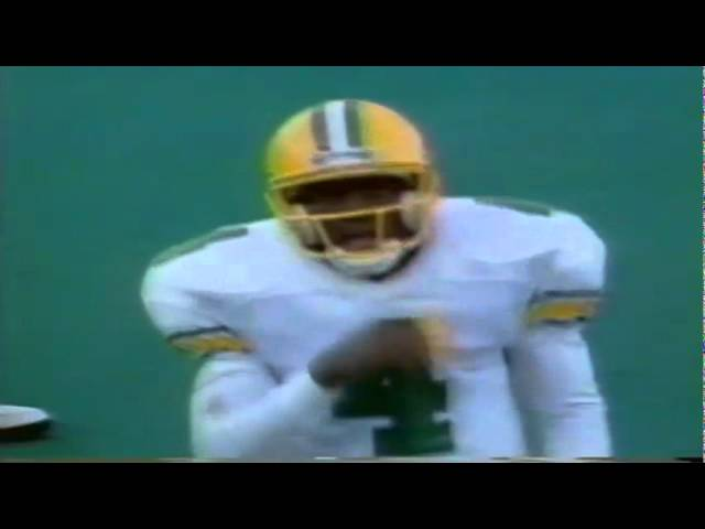 Oregon WR Michael McLellan 23 yard catch vs. Washington 10-13-1990