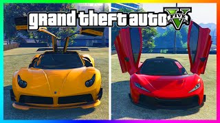 "GTA 5 DLC UPDATE - Best ""Ill Gotten Gains"" Super Car? - Progen T20 Vs Pegassi Osiris! (GTA 5 DLC)"