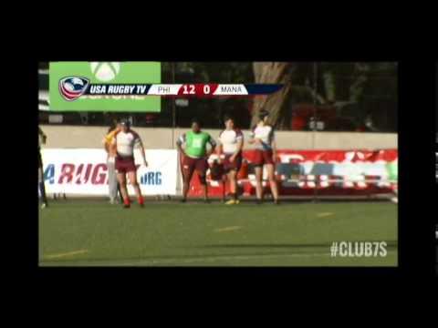 2014 Club 7s - Philadelphia Rugby vs. Mana Wahine