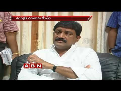 CM Chandrababu Phone Call To Minister Ganta Srinivasa Rao Over Survey Report | ABN Telugu