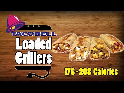 All Four Taco Bell Loaded Grillers Recipe Remake - HellthyJunkFood