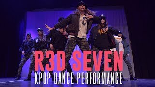"""BTS """"MIC DROP / FIRE"""" & SNSD """"CATCH ME IF YOU CAN"""" Dance Performance by R3D SEVEN"""