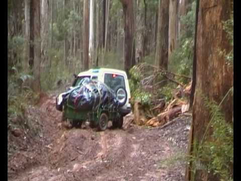 How not to drive on a slippery slope