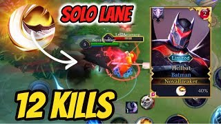 BATMAN SOLO LANE BUILD + EXECUTE | AoV | 傳說對決 | RoV | Liên Quân Mobile