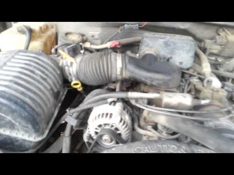4.3l Vortec straight piped LOUD!!!