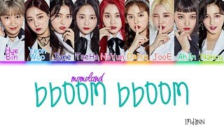 MOMOLAND - Bboom Bboom |Sub. Español + Color Coded| (HAN/ROM/ESP)