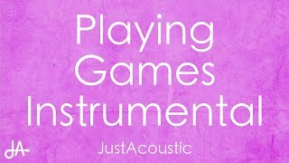 Playing Games - Summer Walker (Acoustic Instrumental)