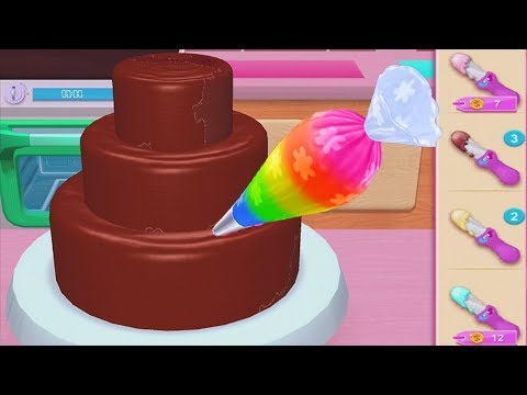 Play Fun Learn Cake Cooking amp Colors Games For Kids - My Bakery Empire - Bake Decorate amp Serve Cakes