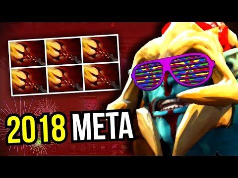 2018 META - Huskar Dagon Instant Kill 7.07 Dota 2   Upside Down 15