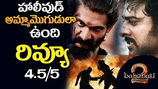 Baahubali 2 Movie Review | Bahubali 2 review and rating | Baahubali 2 review