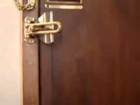 Hotel Door Latch Hotel Door Latch Not Safe