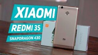 Xiaomi Redmi 3S: обзор (распаковка) бюджетника на Snapdragon 430 с Adreno 505 -- unboxing