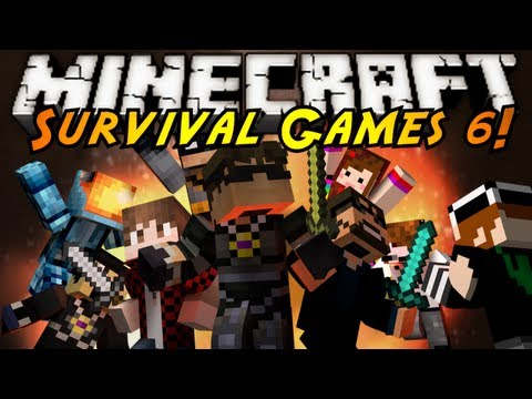 Minecraft: SURVIVAL GAMES 6!